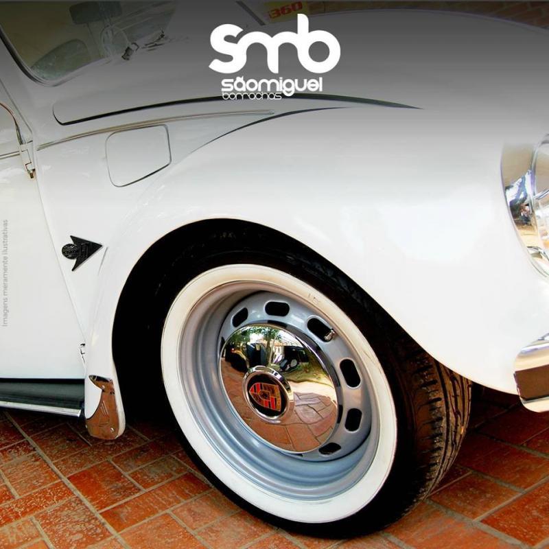 Faixa branca para pneu